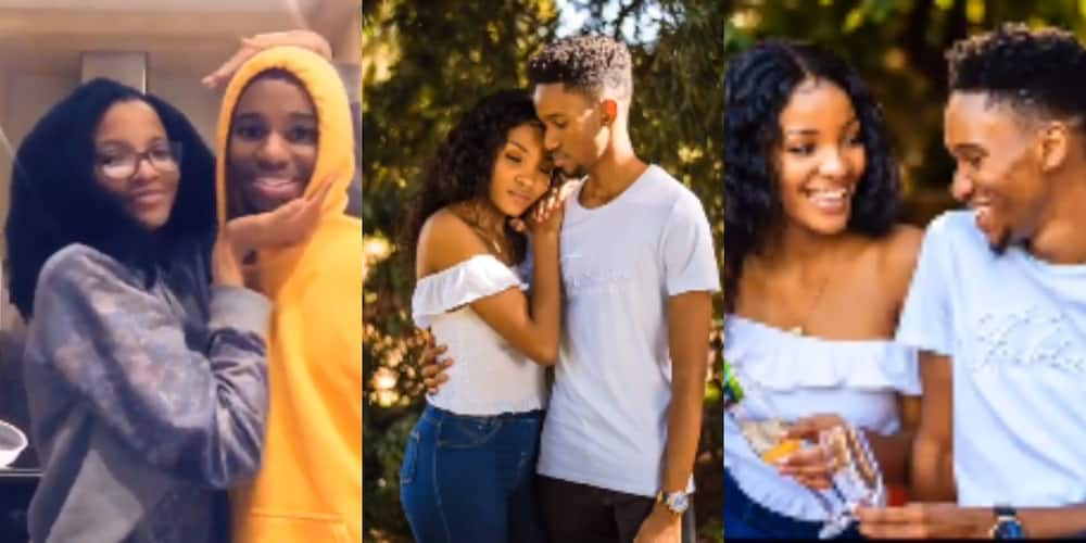Romantic video: Couple discover they are true cousins after dating for 1 year