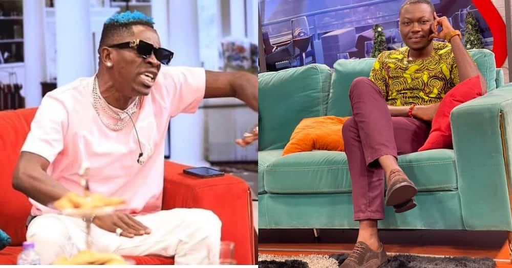 Arnold flaunts new shoe after Shatta Wale disgraced him for wearing GHC 2.50p shoe; photos drop