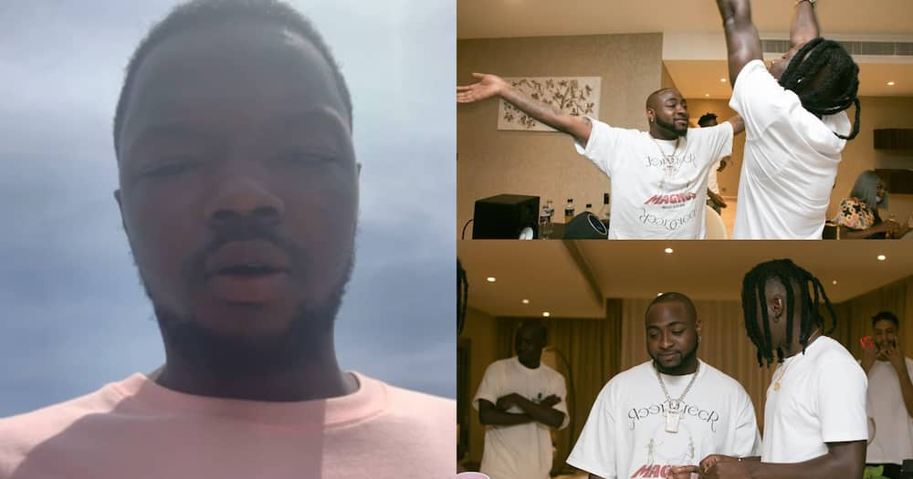 Guy makes u-turn after accusing Stonebwoy and Davido's of slapping him over music video