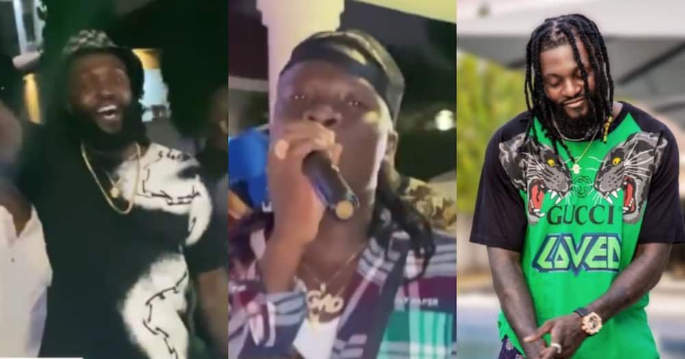 You activate me - Stonebwoy performs banger at Emmanuel Adebayor's birthday party (Video)