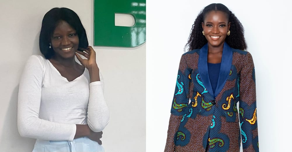 Lady celebrates online after she got job with 900 applications & 898 rejections