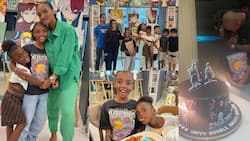 Beautiful photos pop up as Dede Ayew's wife holds 10th birthday party for their 1st daughter