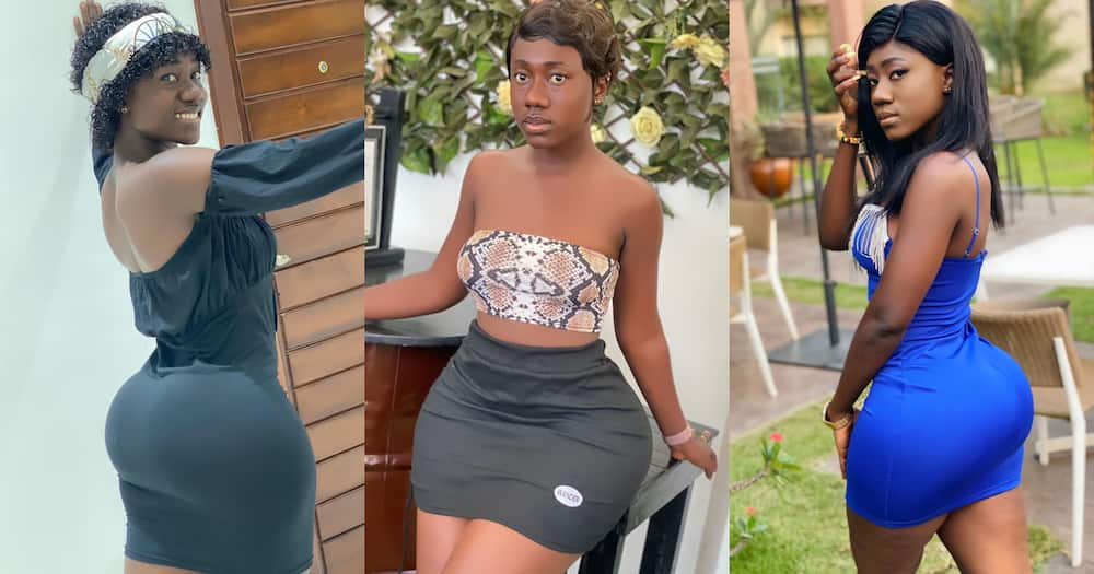 Hajia Bintu turns heads once again with new 'innocent' photo; fans hail her