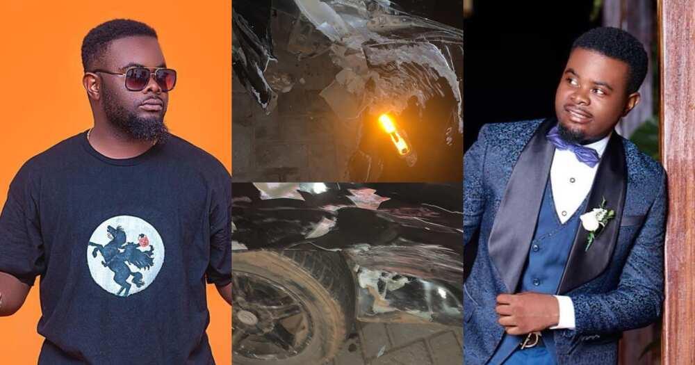Drogba: YOLO actor John Peasah survives accident