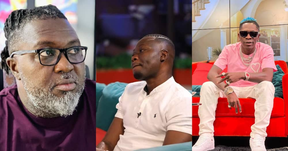 Hammer slams Arnold Asamoah-Baidoo over 'confused' Shatta Wale comment; Arnold responds
