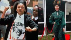 9 beautiful photos of Sarafina actress Leleti Khumalo who's living with vitiligo