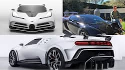 Cristiano Ronaldo owns 3 Bugatti cars with only 10 of his latest model ever made