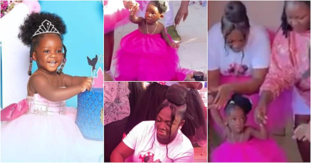 Tracey Boakye throws lavish party for her daughter Nhyira to celebrate her first b'day
