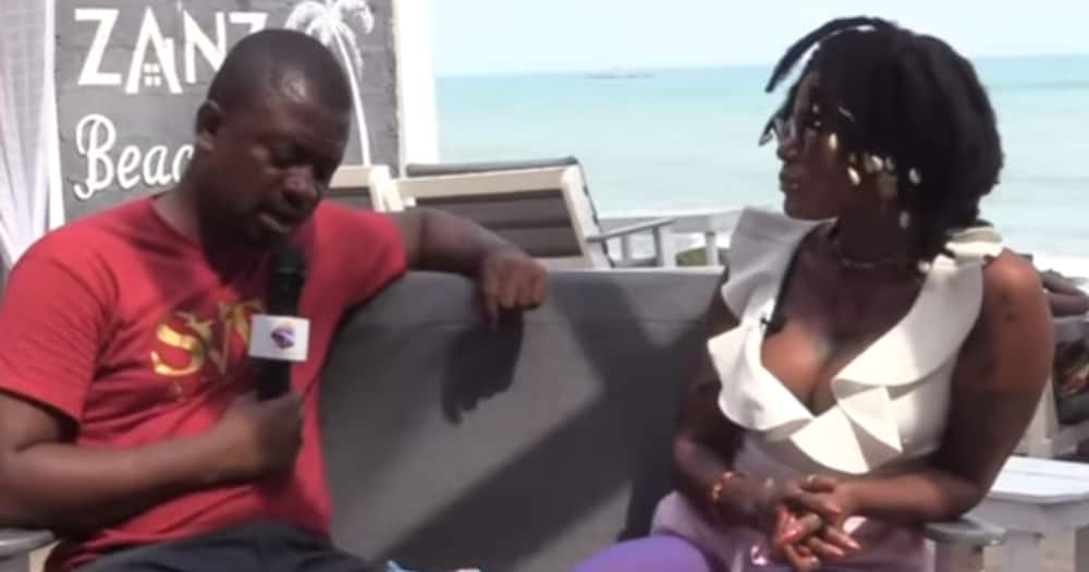 Labena: Meet the Ghanaian female musician with both female and male organs (Video)