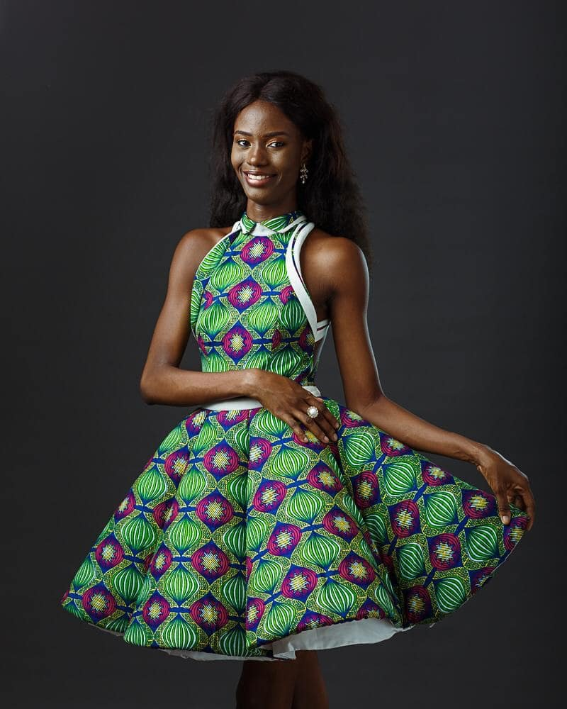 Thelma Azasoo Is Currently In Egypt Ahead of The 2018 Edition Of Top Model Of The World To Represent Ghana