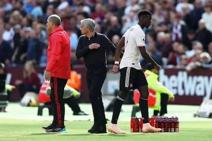 Mourinho reveals the only way Pogba can win back his place in Man United's starting XI