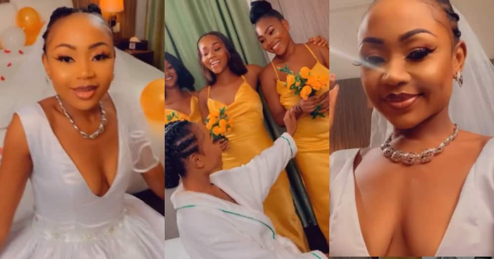Rosemond Brown drops 'wedding' video; claims she is getting married