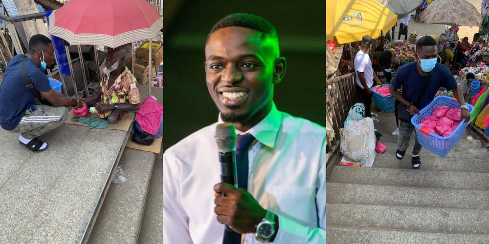 Comedian Waris shares food to the vulnerable to mark his birthday