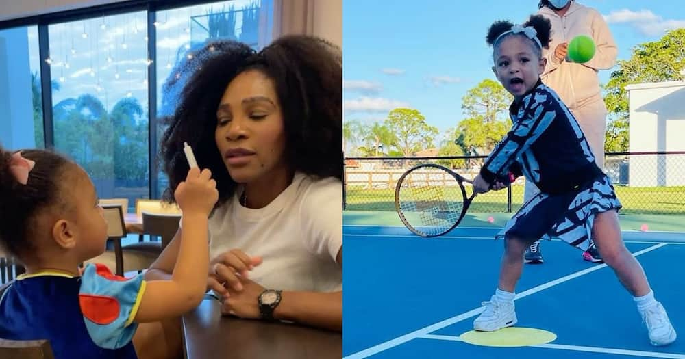 Serena Williams and Kid Alexis Snapped Enjoying a Poolside Summer Day