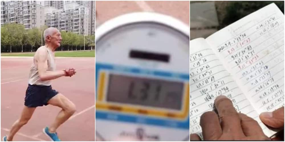 81-year-old Chinese Man Inspires Many as He Runs 400 Metres Every Day, Adorable Photos Go Viral