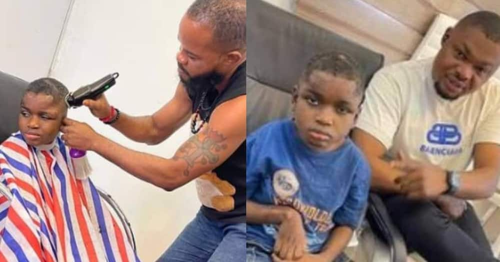 Kind Man Finds Boy Thrown into Forest with Hands-Tied, Takes Care of Him, Shares the Lad's New Look