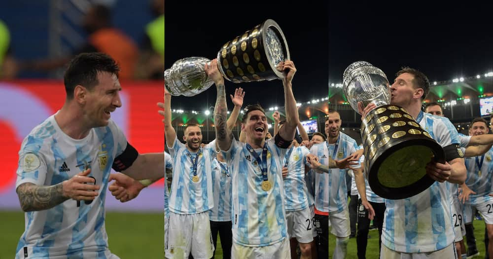 Argentina beat Brazil to win Copa America for the first in 28 years