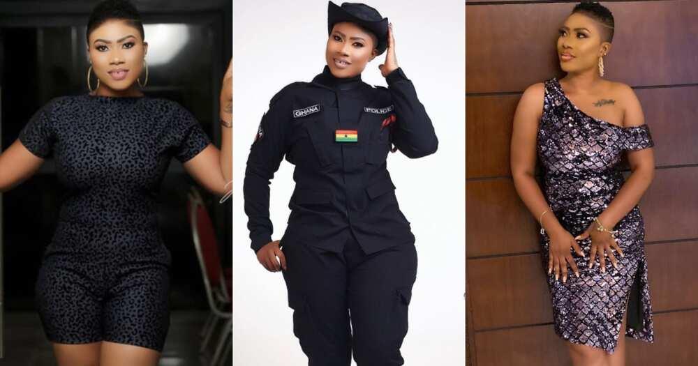 Maya: Ghanaian female officer drops 2 hot bedroom photos