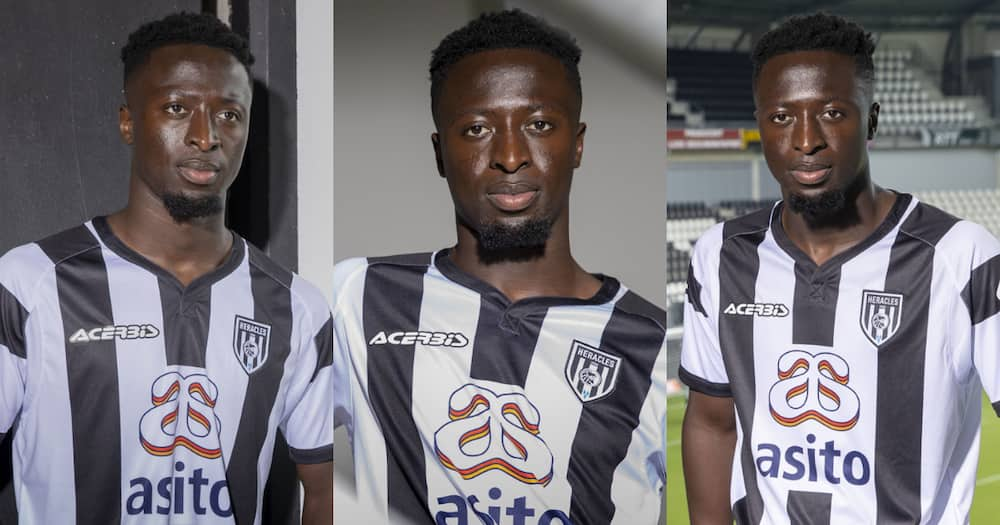 Ghanaian defender Robin Polley joins Dutch club Heracles Almelo