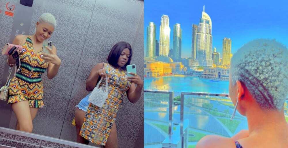 TikTok Stars Jackline Mensah & Asantewaa go Chilling in Dubai; Photos & Videos Surface
