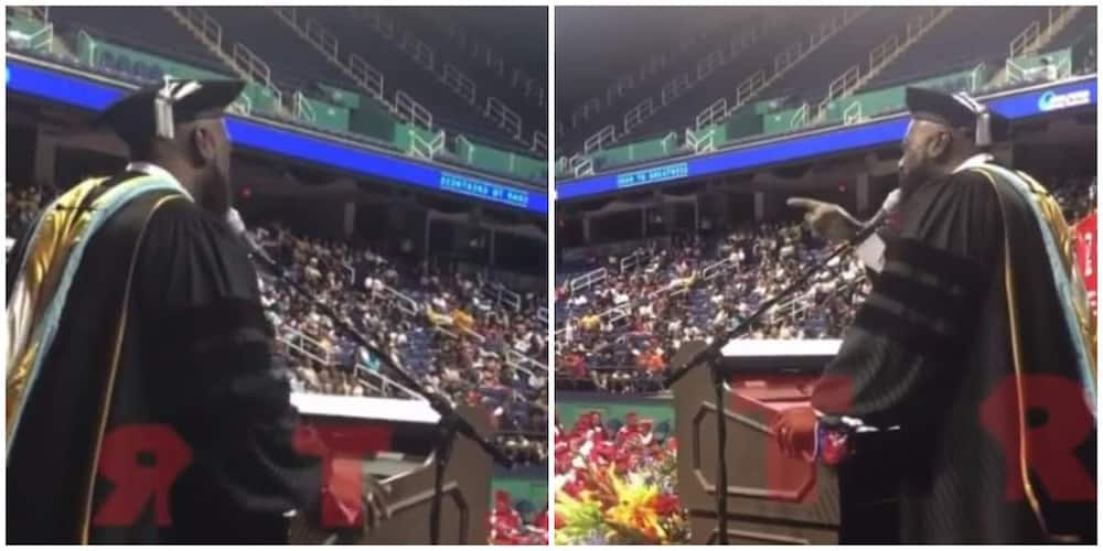 High school principal blow many away with his rendition of Whitney Houston's song