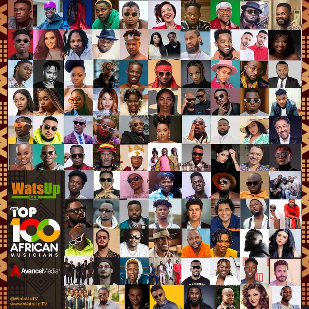 Shatta Wale, Sarkodie, Stonebwoy, Medikal, 6 Others Named In Watsup TV's 100 Top African Artistes List