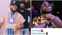 Davido at 10: Twitter Celebrates singer with customised emoji to mark his years in the industry