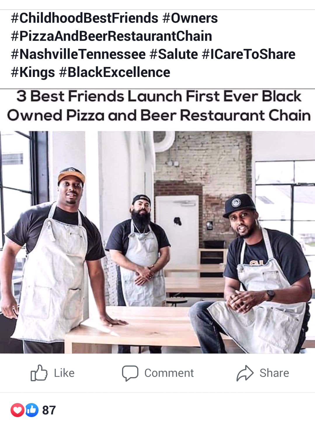 Historic pizza business owned by Blacks creates opportunity, reduces poverty in their community