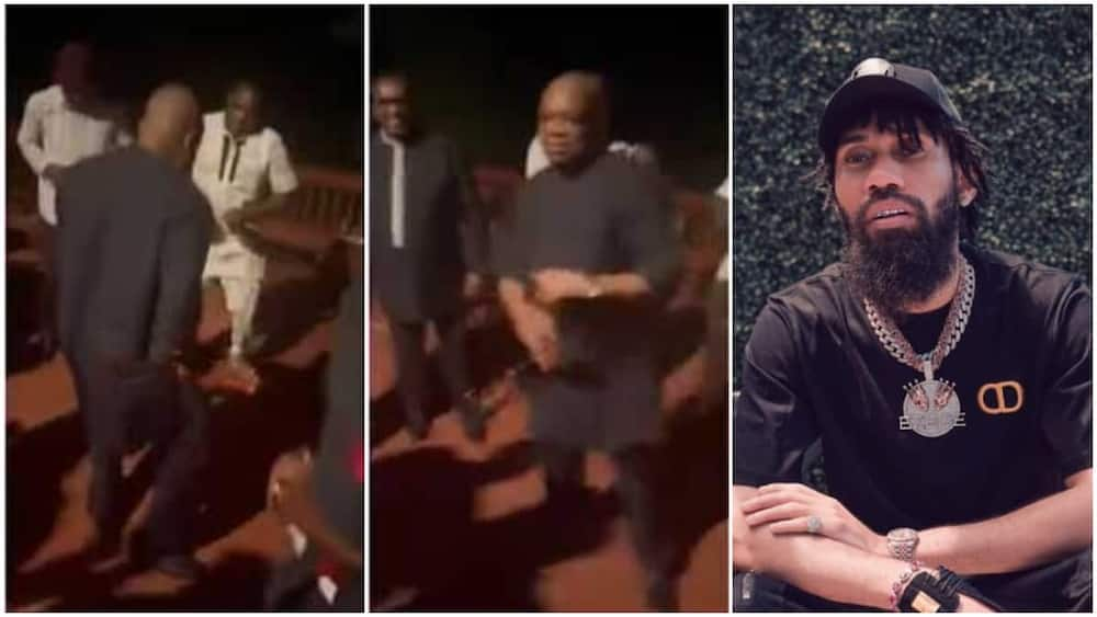 Orji Uzor Kalu dancing