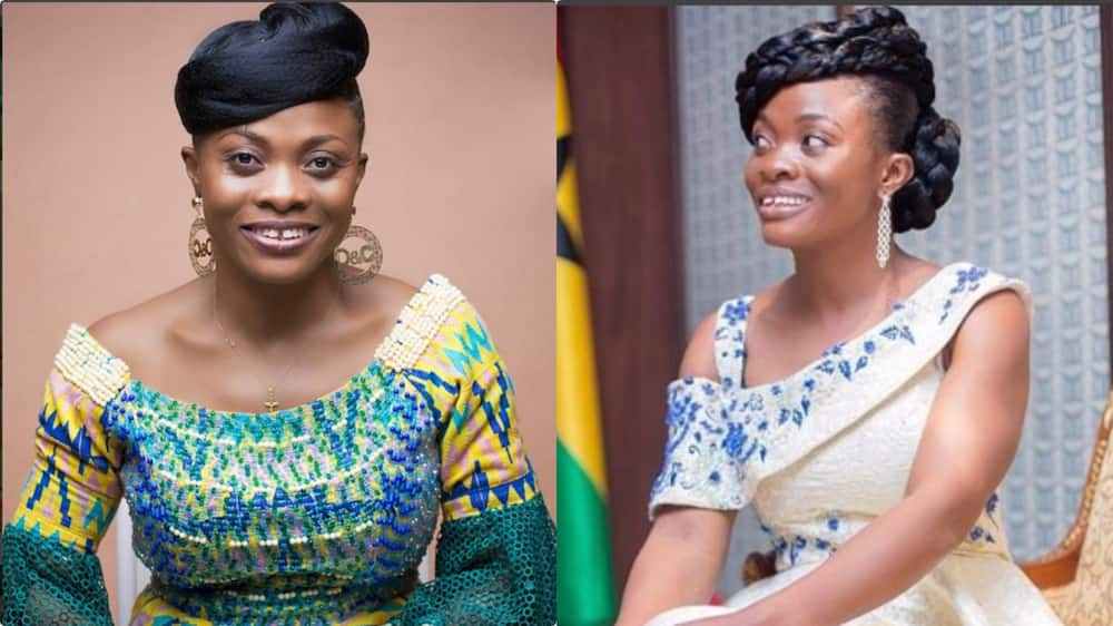 """Diana Asamoah makes Ghanaians laugh with her """"the battery is the Lord's"""" (video)"""