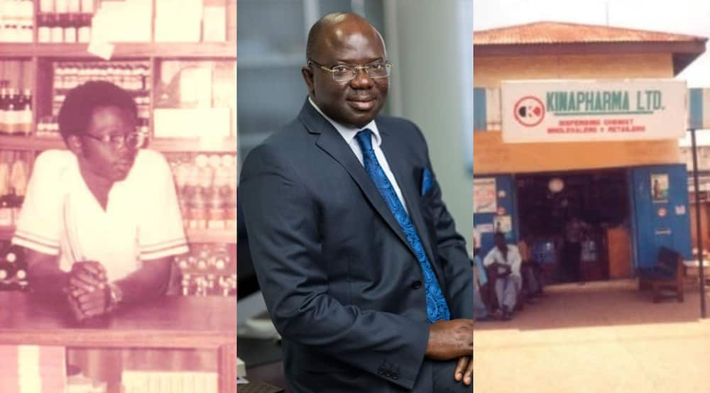 How Ghanaian firm Kinapharma with 1k employees started at 1 shop in Kumasi