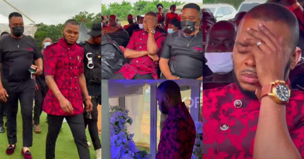 Obinim Breaks Down At Fathers Funeral In Kumasi; Sad Video Drops