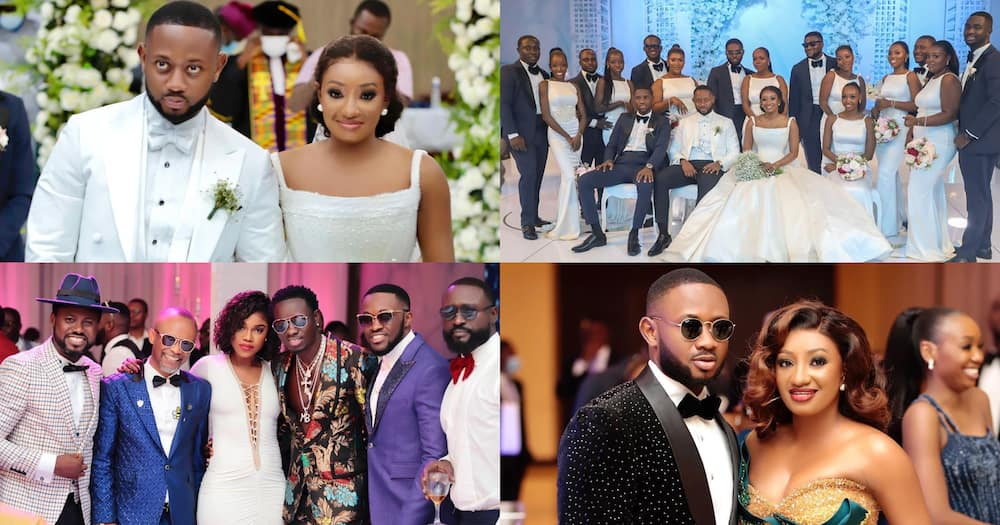 Cindy Ofori Sarpong: 22 fresh photos from white wedding Special Ice's daughter