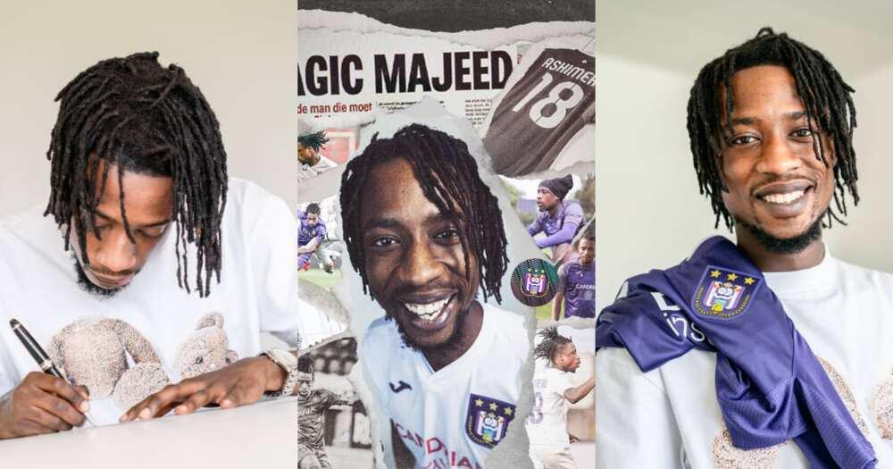 Ghanaian midfielder Majeed Ashimeru joins Belgium giants Anderlecht