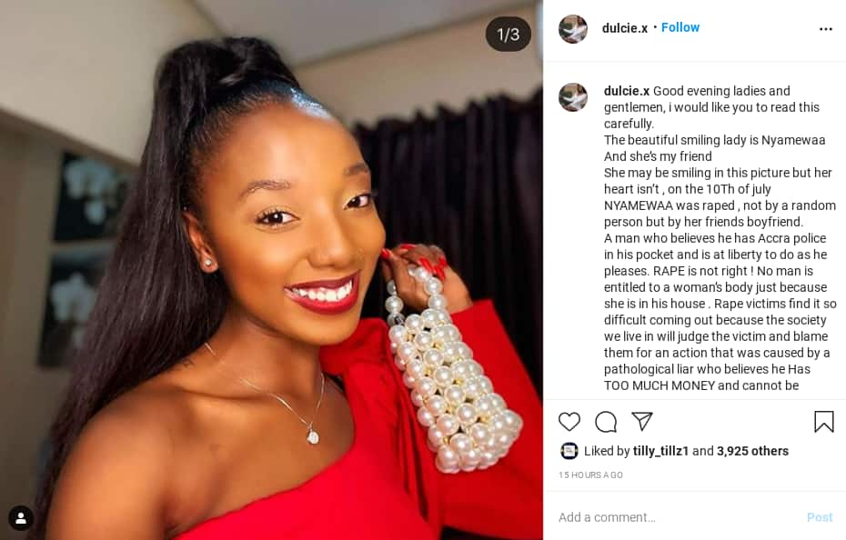 Ghanaian lady Khukie accuses rich man Too Much Money of rape