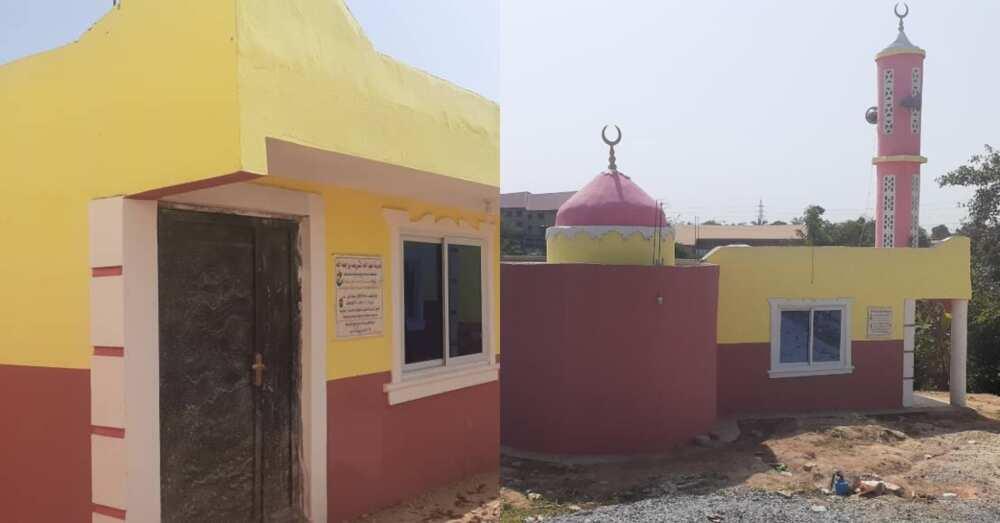 Saudi Arabian philanthropists construct ultra-modern US $100,000 mosque, school complex facilities for Kuntenase muslims