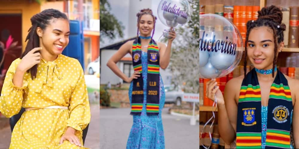 Amanda Nutakor: Lady who bagged 3.84 GPA from Legon speaks about how she made history (video)