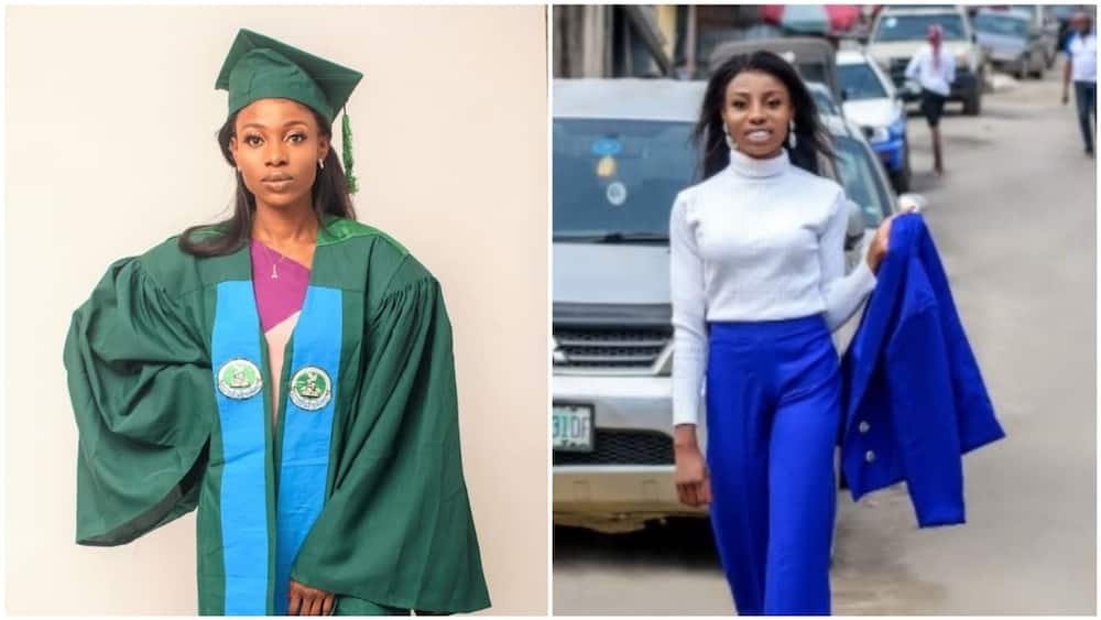 After Mar's dad died, she bore her the financial responsibility of her studies all by herself. Photo source: LinkedIn/Mary Otunba