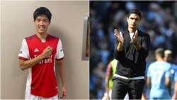 Jubilation as Premier League club Arsenal sign Japanese international defender on Transfer Deadline Day