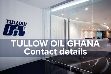 Tullow Oil Ghana contact details