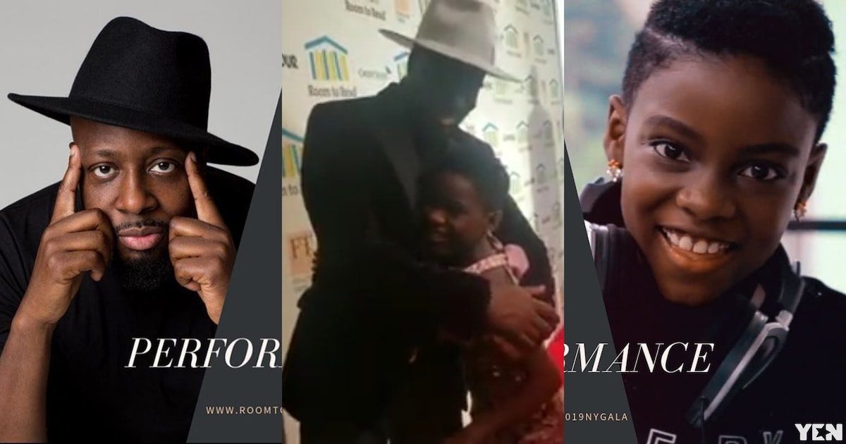 Beautiful video drops as DJ Switch gets a hug from Wyclef after 'yobbing' him