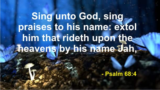 Powerful praise and worship Bible verses (with images