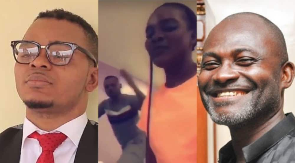 Kennedy Agyapong: Video of the MP dancing to Bisa Kdei's Mansa after exposing Obinim's bad deeds pops up