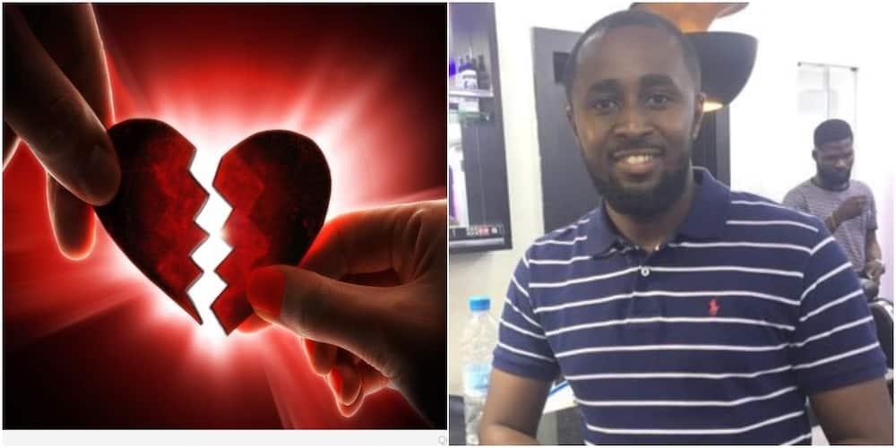 She told me to leave the house that her father was coming, only for her to bring a lover to spend the night - Man shares heartbreak experience