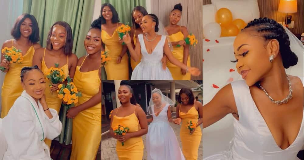 Akuapem Poloo shares more 'wedding' photos and videos