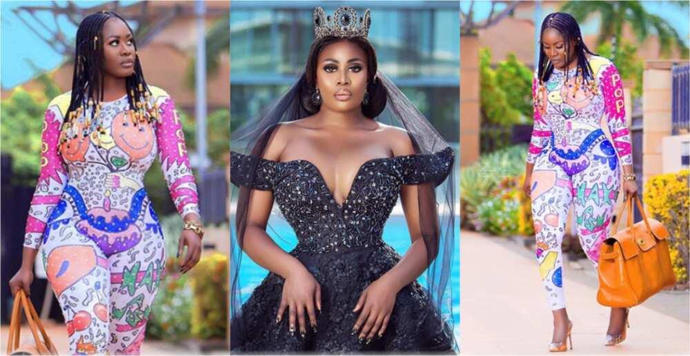 My husband cheated on me; we are fine now - Nana Akua Addo finally admits in video
