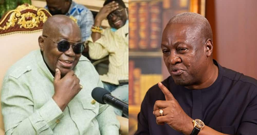 Mahama accuses Akufo-Addo of abandoning old projects and starting new ones