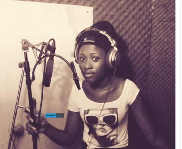 Fella Makafui shares throwback photo of when she was a musician