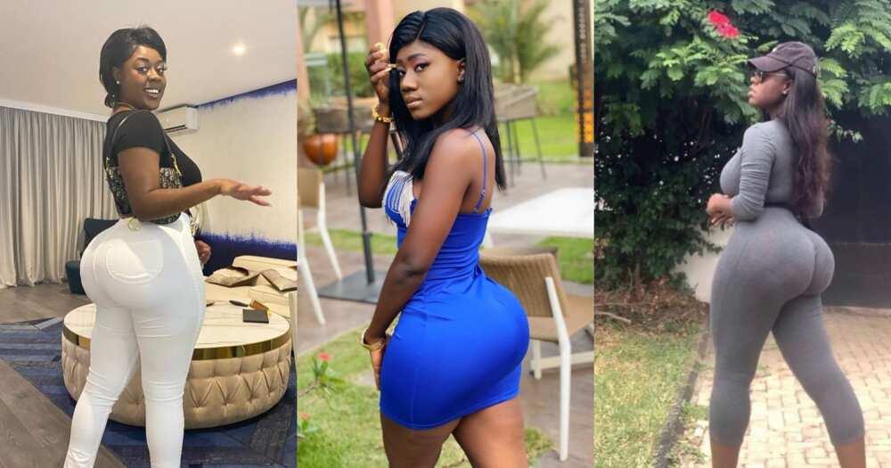Bryttne Xoxo challenges Hajia Bintu; puts her stunning curves on display