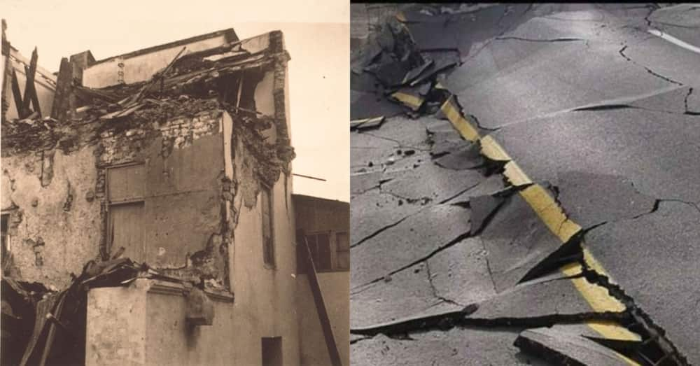 History of top 13 earth shakes in Ghana; the worst was a major earthquake that occurred in June 1939